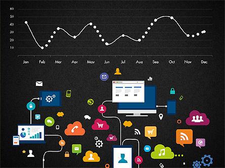 Data Driven Report with Timeline, Slide 11, 03342, Presentation Templates — PoweredTemplate.com
