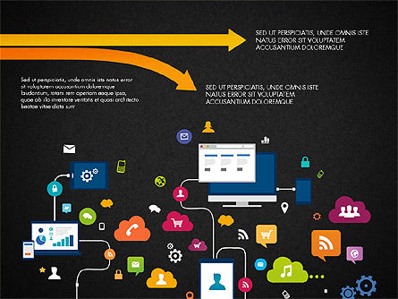Data Driven Report with Timeline, Slide 12, 03342, Presentation Templates — PoweredTemplate.com
