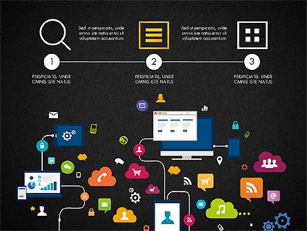 Data Driven Report with Timeline, Slide 13, 03342, Presentation Templates — PoweredTemplate.com