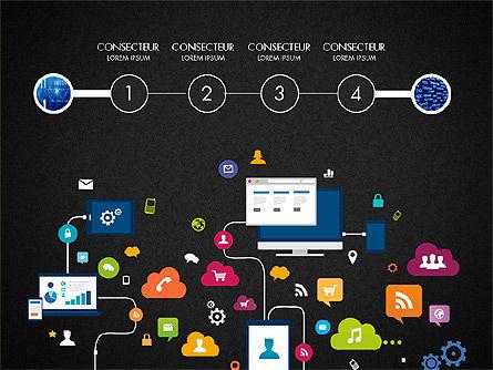 Data Driven Report with Timeline, Slide 14, 03342, Presentation Templates — PoweredTemplate.com