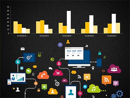 Data Driven Report with Timeline, Slide 15, 03342, Presentation Templates — PoweredTemplate.com