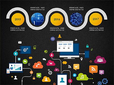 Data Driven Report with Timeline, Slide 16, 03342, Presentation Templates — PoweredTemplate.com
