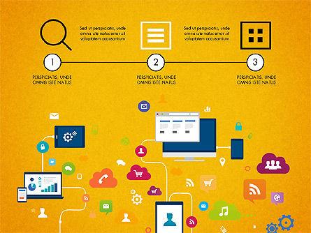Data Driven Report with Timeline, Slide 5, 03342, Presentation Templates — PoweredTemplate.com