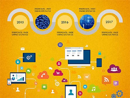 Data Driven Report with Timeline, Slide 8, 03342, Presentation Templates — PoweredTemplate.com