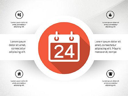 Material Design Style Icons, Slide 10, 03343, Icons — PoweredTemplate.com