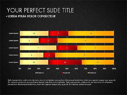Data Driven Charts Collection, Slide 10, 03345, Graph Charts — PoweredTemplate.com