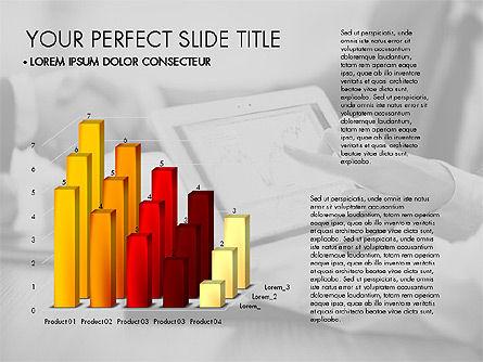 Data Driven Charts Collection, Slide 11, 03345, Graph Charts — PoweredTemplate.com