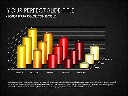 Data Driven Charts Collection, Slide 13, 03345, Graph Charts — PoweredTemplate.com