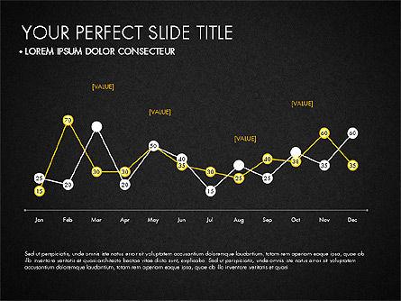 Data Driven Charts Collection, Slide 15, 03345, Graph Charts — PoweredTemplate.com