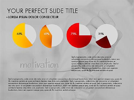 Data Driven Charts Collection, Slide 16, 03345, Graph Charts — PoweredTemplate.com