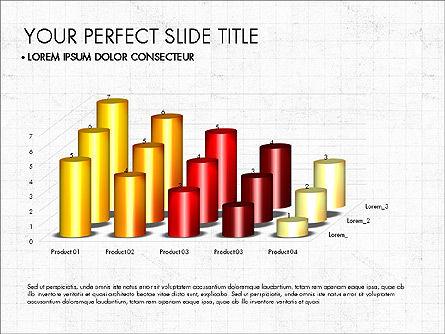 Data Driven Charts Collection, Slide 5, 03345, Graph Charts — PoweredTemplate.com