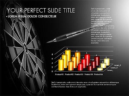 Data Driven Charts Collection, Slide 6, 03345, Graph Charts — PoweredTemplate.com