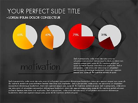 Data Driven Charts Collection, Slide 8, 03345, Graph Charts — PoweredTemplate.com