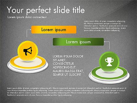 Process and Icons, Slide 10, 03347, Process Diagrams — PoweredTemplate.com