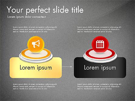 Process and Icons, Slide 16, 03347, Process Diagrams — PoweredTemplate.com