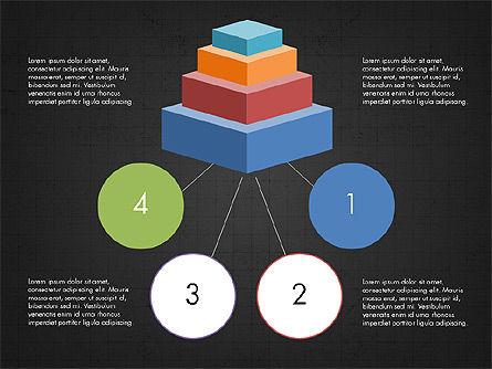 Presentation with Colorful 3D Shapes, Slide 11, 03348, Presentation Templates — PoweredTemplate.com