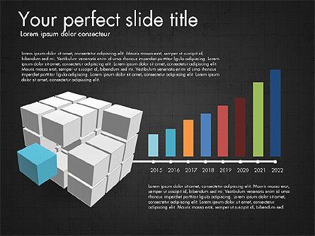 Presentation with Colorful 3D Shapes, Slide 14, 03348, Presentation Templates — PoweredTemplate.com