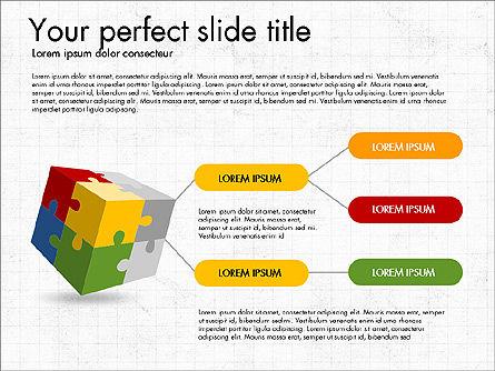 Presentation with Colorful 3D Shapes, Slide 5, 03348, Presentation Templates — PoweredTemplate.com