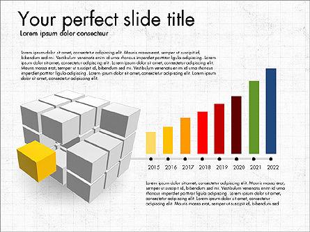 Presentation with Colorful 3D Shapes, Slide 6, 03348, Presentation Templates — PoweredTemplate.com