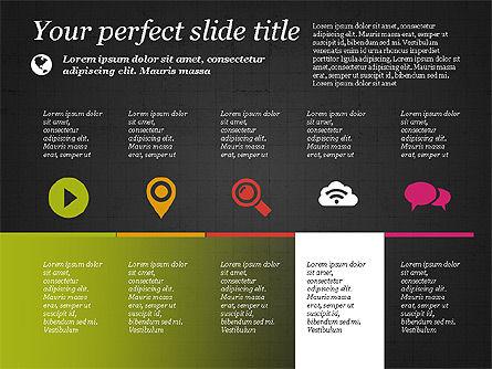 Flat Designed Creative Presentation Template, Slide 10, 03349, Presentation Templates — PoweredTemplate.com