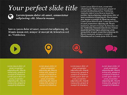 Flat Designed Creative Presentation Template, Slide 11, 03349, Presentation Templates — PoweredTemplate.com