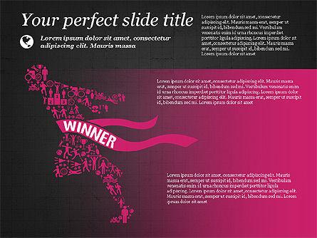 Flat Designed Creative Presentation Template, Slide 12, 03349, Presentation Templates — PoweredTemplate.com