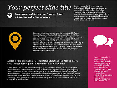 Flat Designed Creative Presentation Template, Slide 13, 03349, Presentation Templates — PoweredTemplate.com