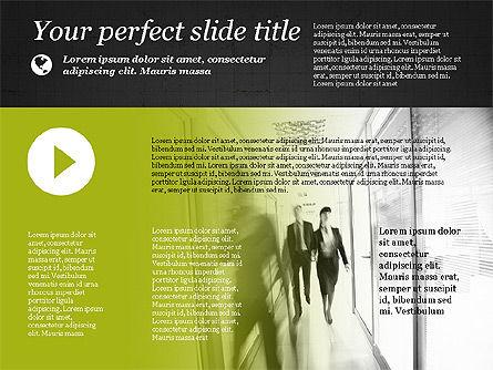 Flat Designed Creative Presentation Template, Slide 14, 03349, Presentation Templates — PoweredTemplate.com