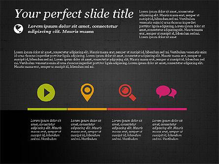 Flat Designed Creative Presentation Template, Slide 15, 03349, Presentation Templates — PoweredTemplate.com