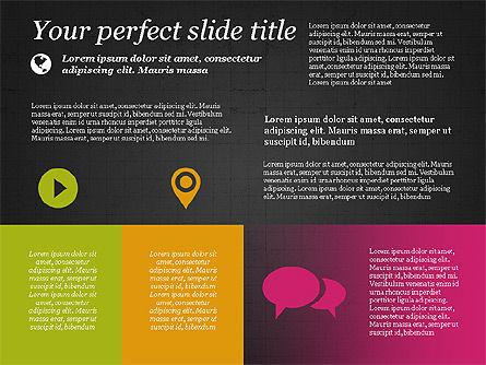 Flat Designed Creative Presentation Template, Slide 16, 03349, Presentation Templates — PoweredTemplate.com