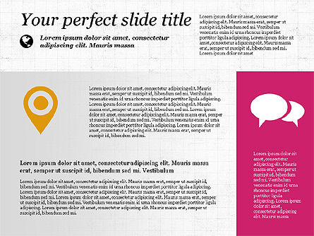 Flat Designed Creative Presentation Template, Slide 5, 03349, Presentation Templates — PoweredTemplate.com