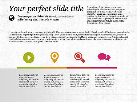 Flat Designed Creative Presentation Template, Slide 7, 03349, Presentation Templates — PoweredTemplate.com