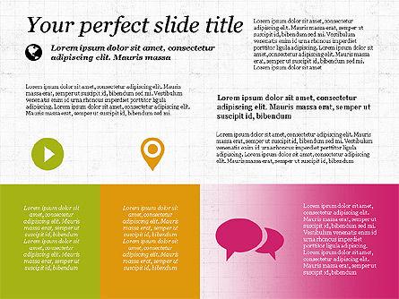 Flat Designed Creative Presentation Template, Slide 8, 03349, Presentation Templates — PoweredTemplate.com