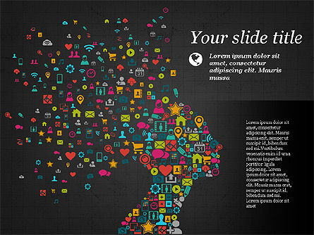 Flat Designed Creative Presentation Template, Slide 9, 03349, Presentation Templates — PoweredTemplate.com