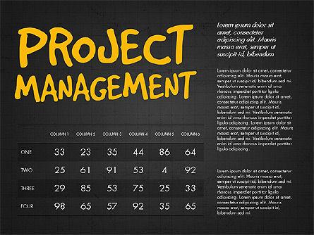 Project Management Presentation Concept, Slide 13, 03350, Business Models — PoweredTemplate.com