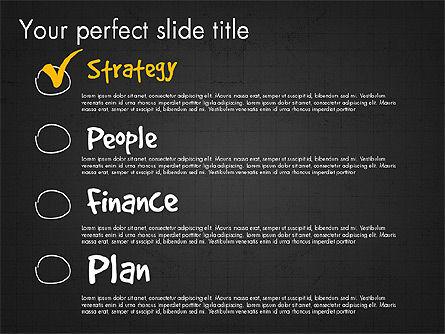 Project Management Presentation Concept, Slide 14, 03350, Business Models — PoweredTemplate.com