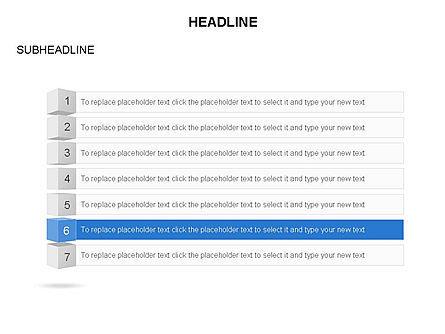 Agenda Toolbox, Slide 7, 03353, Stage Diagrams — PoweredTemplate.com