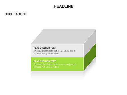 3D Cubes Toolbox, Slide 17, 03354, Shapes — PoweredTemplate.com