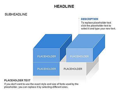 3D Cubes Toolbox, Slide 22, 03354, Shapes — PoweredTemplate.com