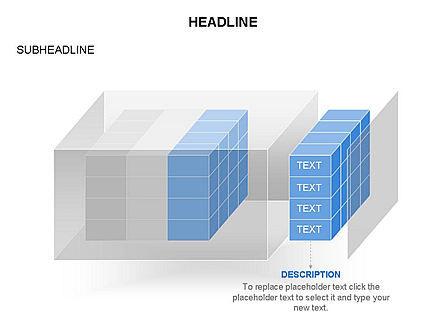 3D Cubes Toolbox, Slide 24, 03354, Shapes — PoweredTemplate.com