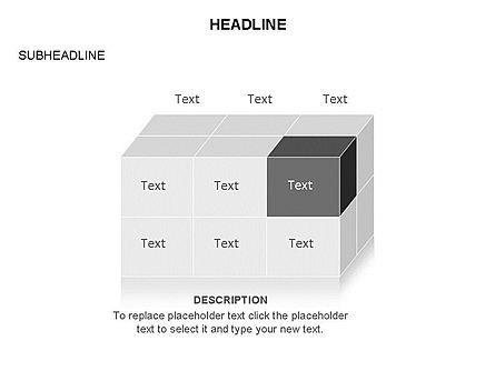 3D Cubes Toolbox, Slide 6, 03354, Shapes — PoweredTemplate.com