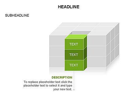 3D Cubes Toolbox, Slide 7, 03354, Shapes — PoweredTemplate.com