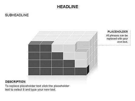 3D Cubes Toolbox, Slide 8, 03354, Shapes — PoweredTemplate.com