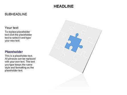Missing Puzzle Piece Toolbox, Slide 2, 03355, Puzzle Diagrams — PoweredTemplate.com