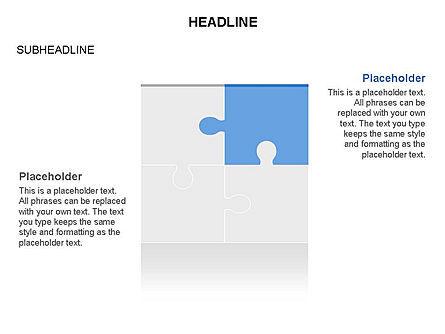 Missing Puzzle Piece Toolbox, Slide 4, 03355, Puzzle Diagrams — PoweredTemplate.com