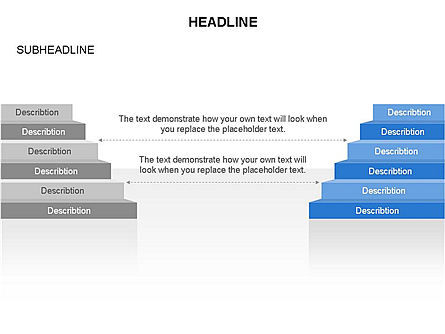 Layers Toolbox, Slide 24, 03357, Stage Diagrams — PoweredTemplate.com