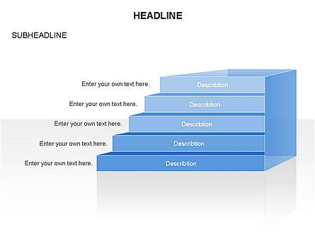 Layers Toolbox, Slide 29, 03357, Stage Diagrams — PoweredTemplate.com