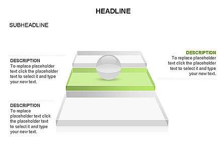 Sphere and Platforms Toolbox, Slide 6, 03358, Shapes — PoweredTemplate.com