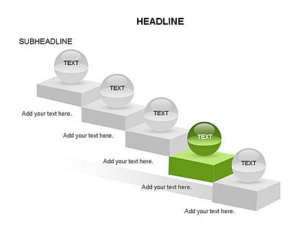 Steps Toolbox, Slide 21, 03359, Stage Diagrams — PoweredTemplate.com