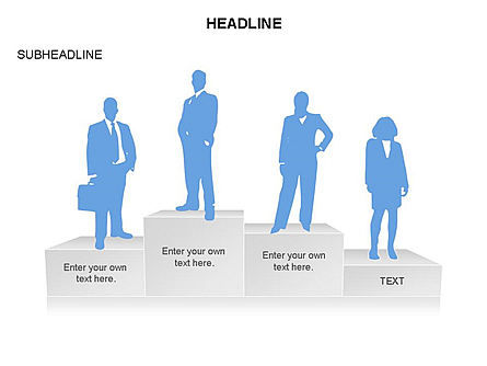 Rewarding Toolbox, Slide 18, 03360, Stage Diagrams — PoweredTemplate.com